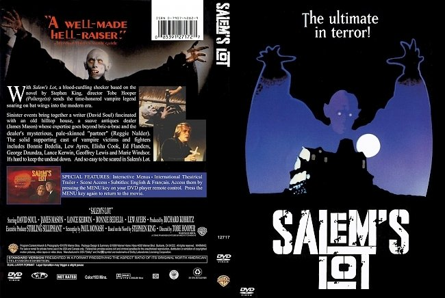 dvd cover Salems Lot 1979 Dvd Cover