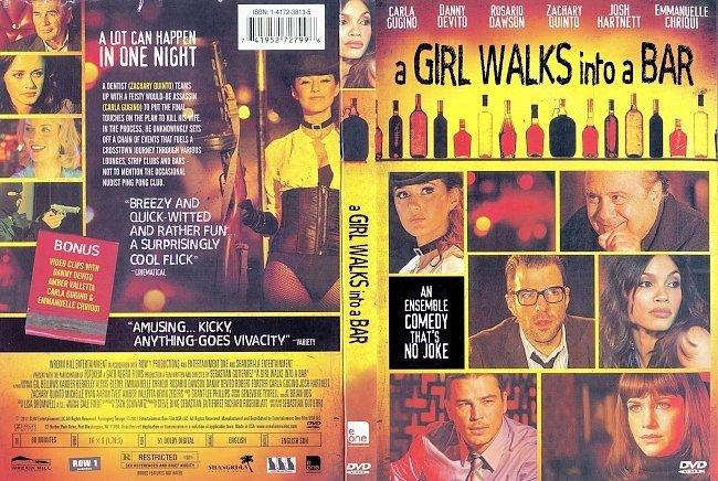 dvd cover A Girl Walks Into A Bar 2011 Dvd Cover