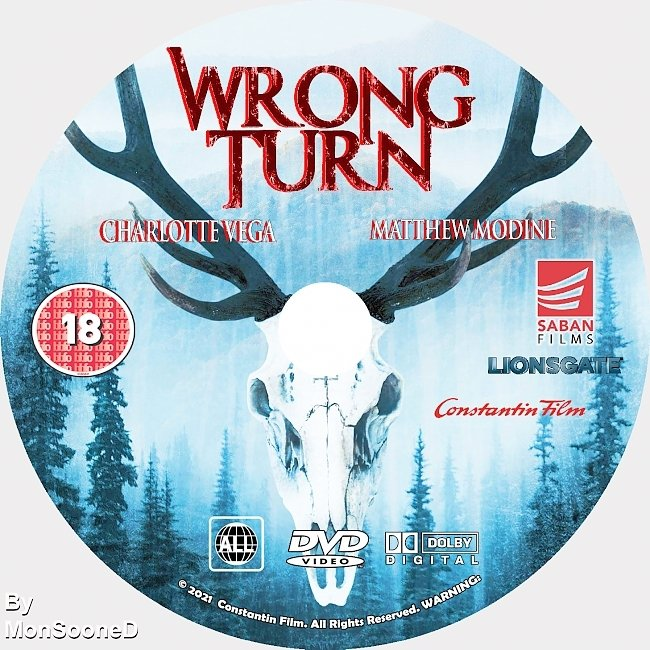 dvd cover Wrong Turn 2021 Dvd Disc Dvd Cover