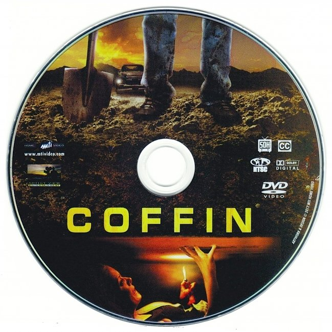 dvd cover Coffin 2011 R1 Disc Dvd Cover