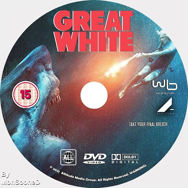 dvd cover Great White 2021 Dvd Disc Dvd Cover