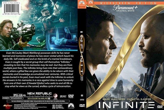 dvd cover Infinite 2021 Dvd Cover