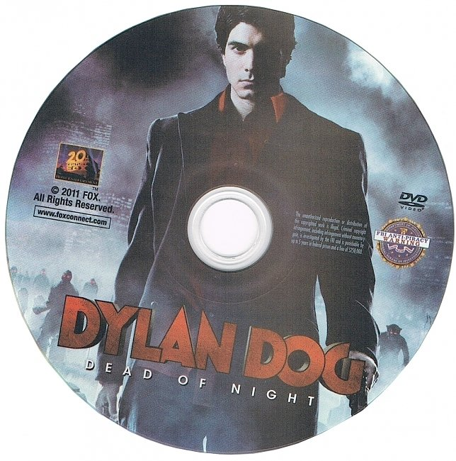 dvd cover Dylan Dog Dead Of Night 2011 R1 Disc Dvd Cover