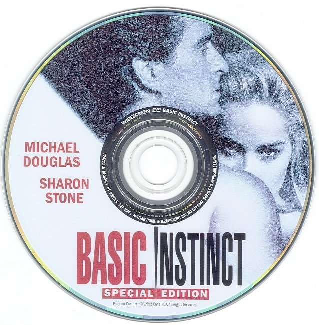 dvd cover Basic Instinct - Special Edition 1992 R1 Disc Dvd Cover