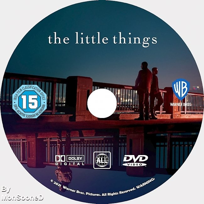 dvd cover The Little Things 2021 Dvd Disc Dvd Cover