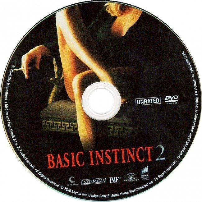 dvd cover Basic Instinct 2 2006 R1 Disc Dvd Cover