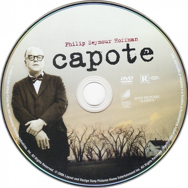 dvd cover Capote 2005 R1 Disc Dvd Cover