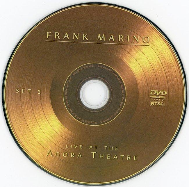 dvd cover Frank Marino - Live In Agora Theatre 2019 Dvd Cover