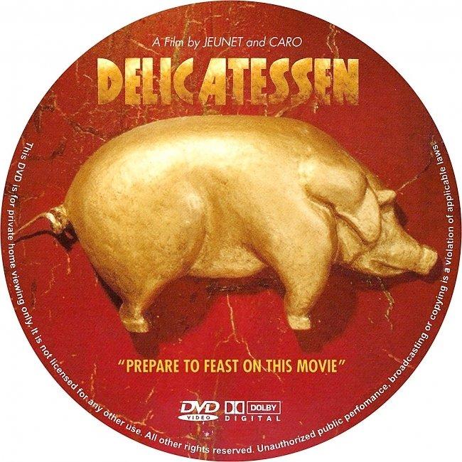 dvd cover Delicatessen 1991 R1 Disc Dvd Cover