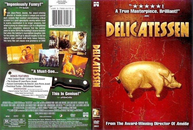 dvd cover Delicatessen 1991 Dvd Cover