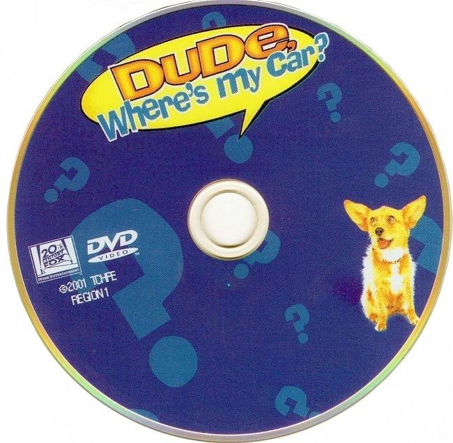 dvd cover Dude Wheres My Car 2000 R1 Disc Dvd Cover