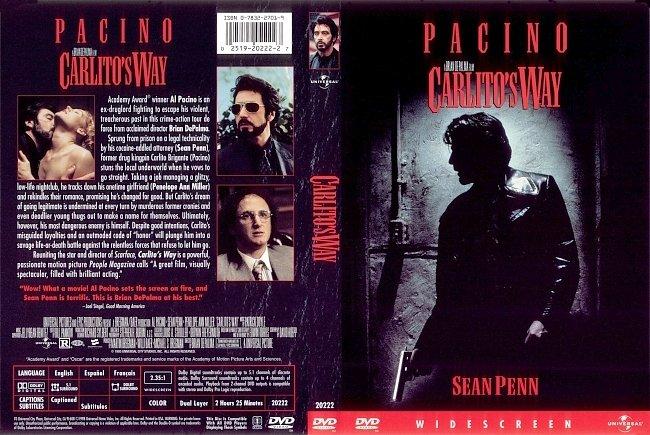 dvd cover Carlitos Way 1993 Dvd Cover