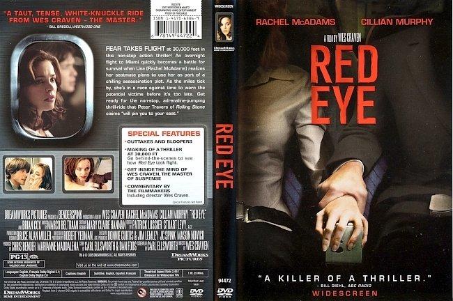 dvd cover Red Eye 2005 Dvd Cover