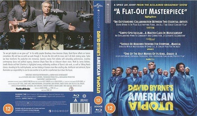 dvd cover David Byrne - David Byrne's American Utopia 2020 Dvd Cover