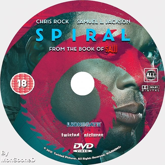 dvd cover Spiral From The Book Of Saw 2021 Dvd Disc Dvd Cover