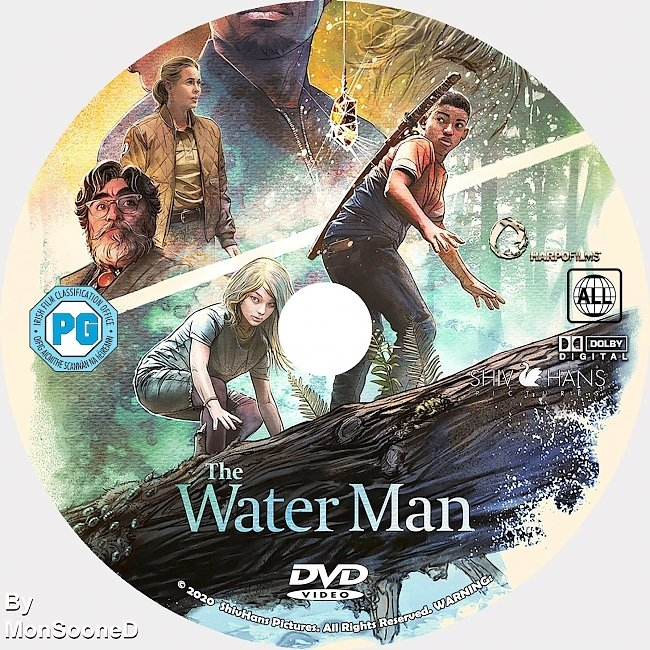 dvd cover The Water Man 2020 Dvd Disc Dvd Cover