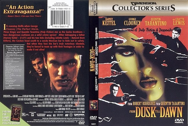 dvd cover From Dusk Till Dawn - Collectors Edition 1996 Dvd Cover