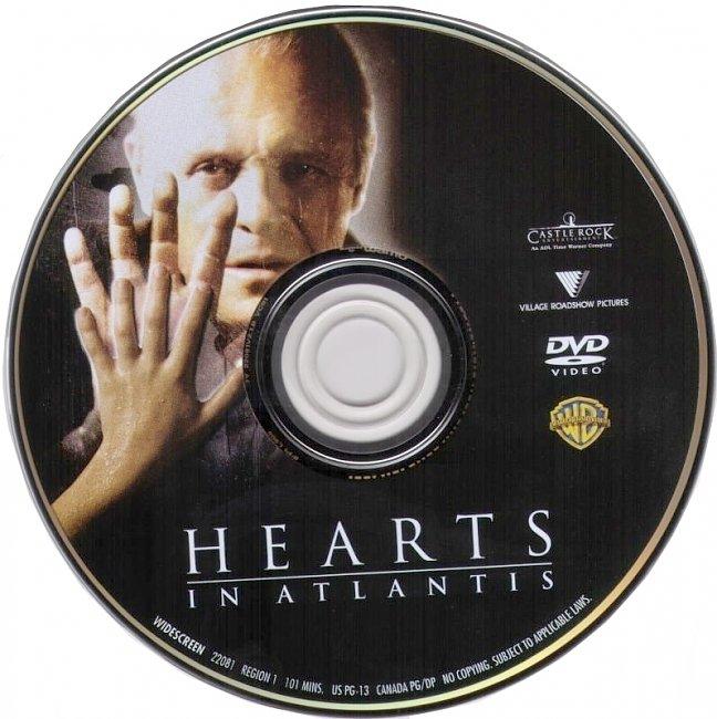 dvd cover Hearts In Atlantis 2001 R1 Disc Dvd Cover