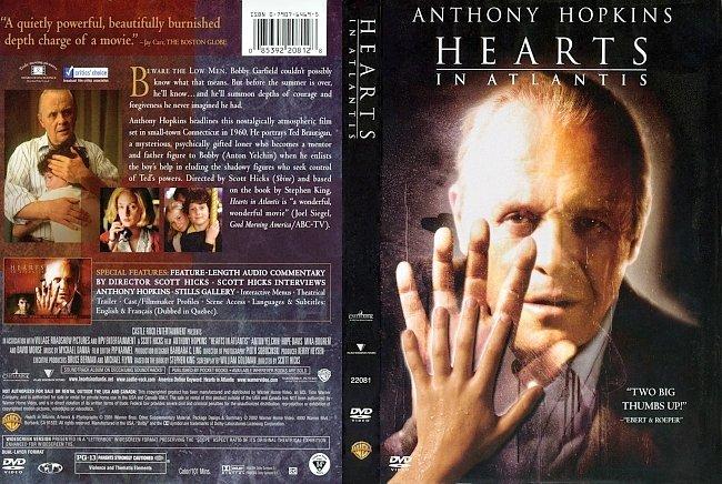dvd cover Hearts In Atlantis 2001 Dvd Cover