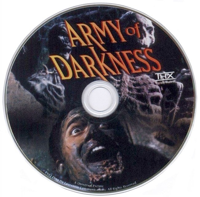 dvd cover Army Of Darkness 1992 R1 Disc 1 Dvd Cover