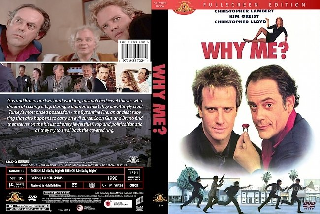 dvd cover Why Me? 1990 Dvd Cover