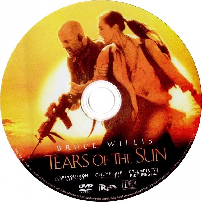dvd cover Tears Of The Sun 2003 R1 Disc Dvd Cover