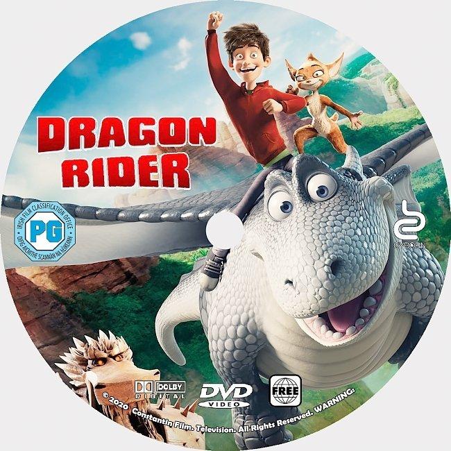 dvd cover Dragon Rider 2020 Dvd Disc Dvd Cover