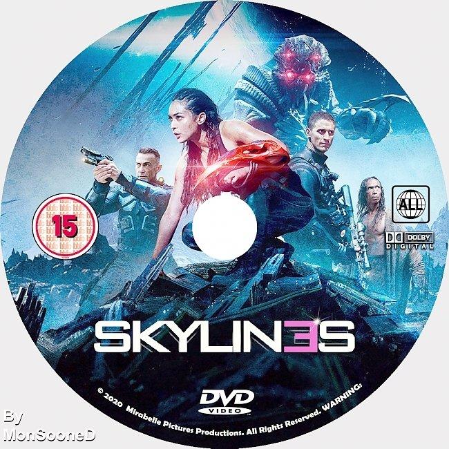 dvd cover Skylines 2020 Dvd Disc Dvd Cover