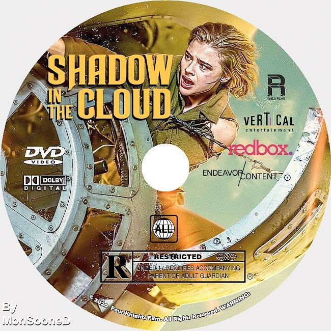 dvd cover Shadow In The Cloud 2020 Dvd Disc Dvd Cover
