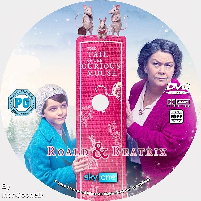 dvd cover Roald & Beatrix_ The Tail Of The Curious Mouse 2020 Dvd Disc Dvd Cover