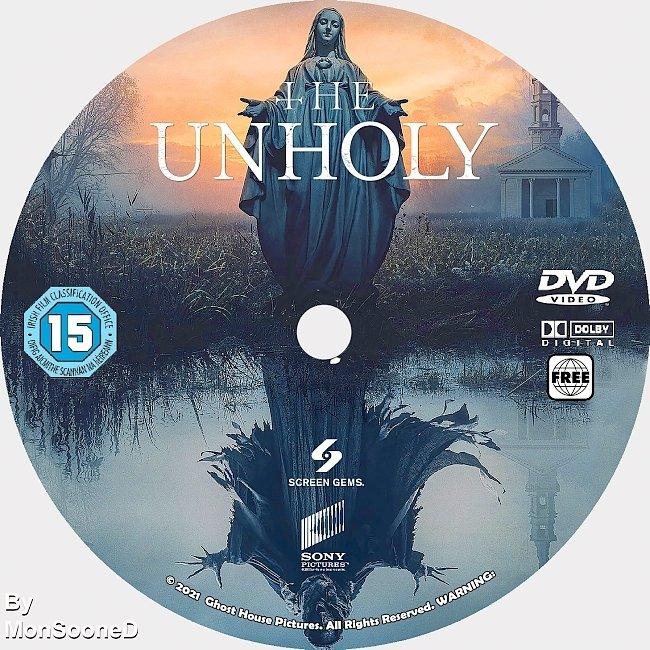 dvd cover The Unholy 2021 Dvd Disc Dvd Cover