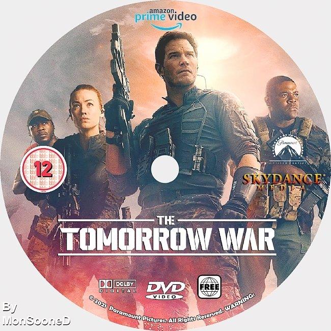 dvd cover The Tomorrow War 2021 Dvd Disc Dvd Cover