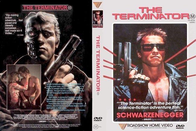 dvd cover The Terminator 1984 WS R4 - Original DVD Cover Dvd Cover