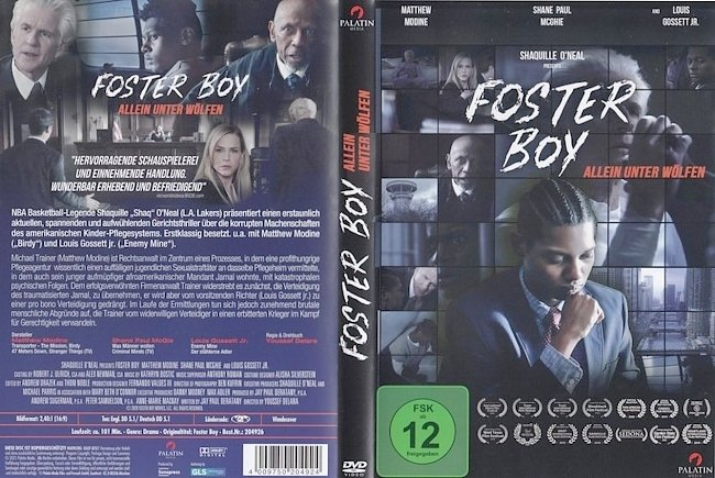 dvd cover Foster Boy 2020 Dvd Cover