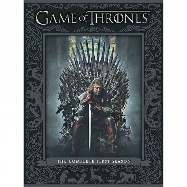 dvd cover Game Of Thrones - Season 1 2011 R1 Front Dvd Cover
