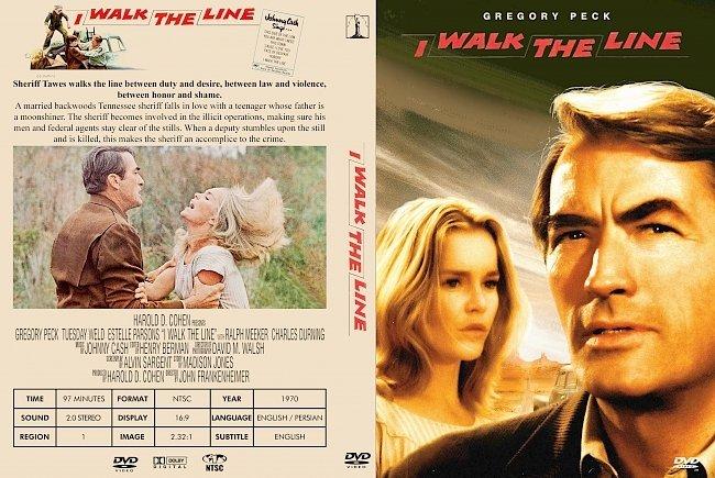 dvd cover I Walk The Line 1970 Dvd Cover