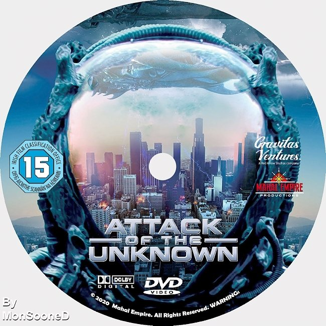 dvd cover Attack Of The Unknown 2020 Dvd Disc Dvd Cover