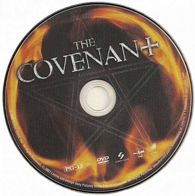 dvd cover The Covenant 2006 R1 Disc Dvd Cover