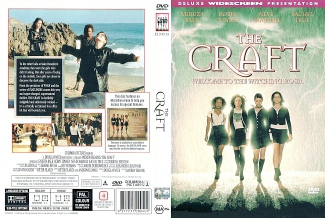 dvd cover The Craft 1996 Dvd Cover