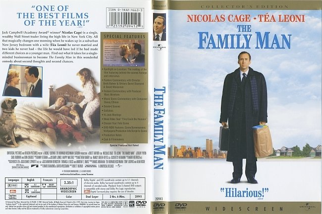 dvd cover The Family Man 2000 Dvd Cover