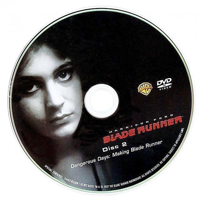 dvd cover Blade Runner 1982 R1 Disc 2 Dvd Cover
