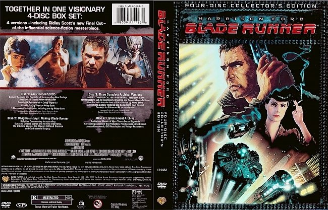 dvd cover Blade Runner - Collectors Edition 1982 Dvd Cover