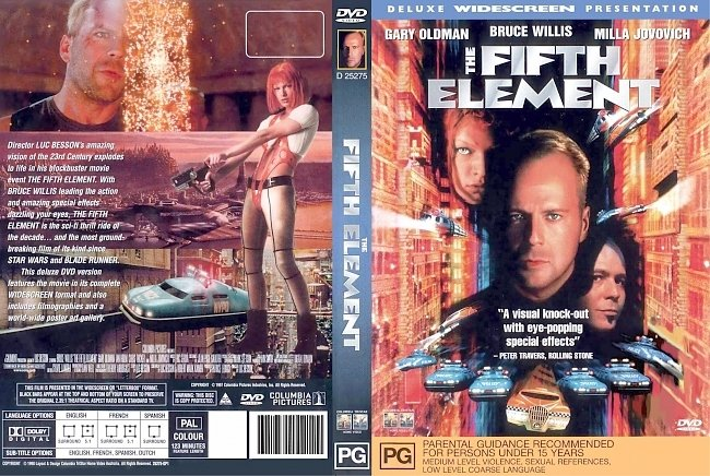 dvd cover The Fifth Element 1997 Dvd Cover