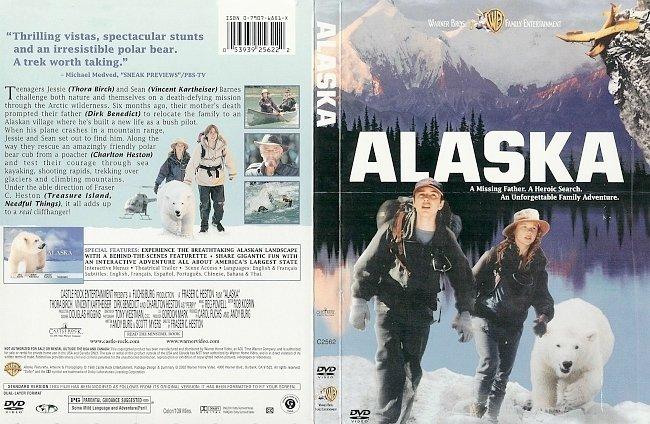 dvd cover Alaska 1996 R1 Dvd Cover