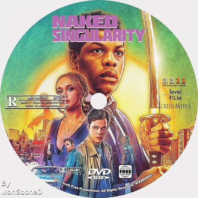 dvd cover Naked Singularity 2021 Dvd Disc Dvd Cover