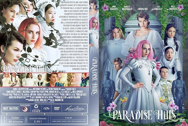dvd cover Paradise Hills 2019 R1 Dvd Cover