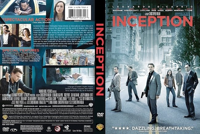 dvd cover Inception 2010 Dvd Cover