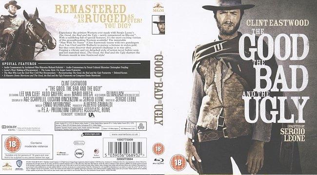 dvd cover The Good, The Bad And The Ugly 2020 R0 Dvd Cover
