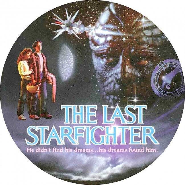 dvd cover The Last Starfighter 1984 R1 Disc Dvd Cover