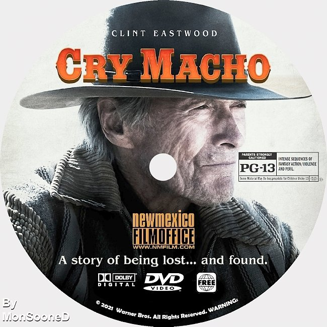dvd cover Cry Marcho 2021 Dvd Disc Dvd Cover